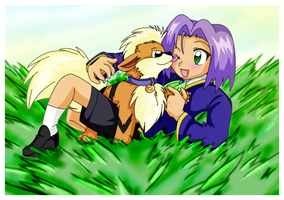 Puppy Love by goldfish078