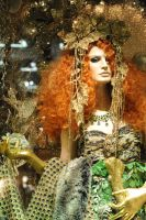 Red Hair Beauty Spring Queen by Lady-Angel