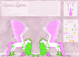 + Queen Lyma - Reference Sheet + by Aisuruu