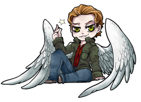 SPN - Gabriel by LittleDarkDragon