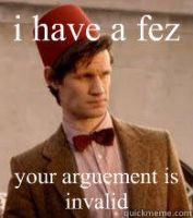 Matt Smith Fez Meme by slyfox34