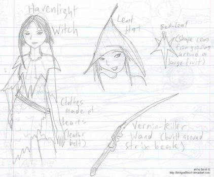 A Witch and Her Hat. Wand, too by KriegsaffeNo9