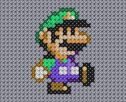 Mario Cross Stitch 3 by drsparc