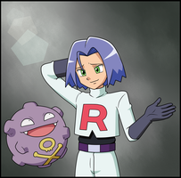James and Koffing by IndigoWildcat