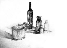 20 Minute Still life by karmaela