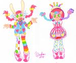 Raving Mimi and Birthday Bash Nyami by GABBER-princess