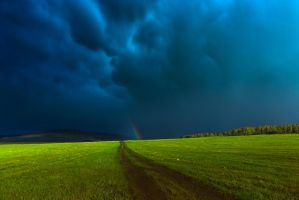 Storm ending by Valentin-Gl