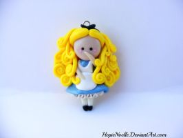 Alice Flat figure doll by HopieNoelle