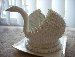500 triangle swan by FlamesKing