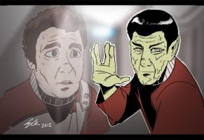 Death of Spock by SupaCrikeyDave