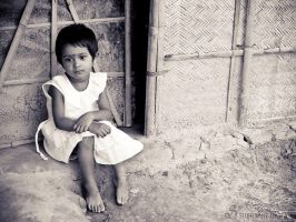 I may be little but I've worries too... by SubhrajitDatta