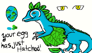 Your egg has just hatched (for feather-dragon) by Stormdeathstar9