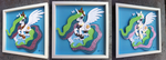 [SOLD] Shadowbox: Princess Celestia by The-Paper-Pony