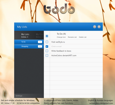 todo Concept by ActiveColors