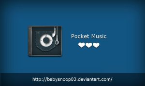 Pocket Music by babysnoop03