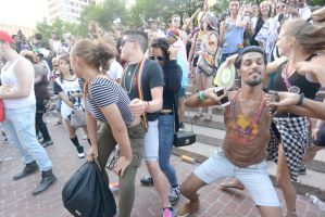 2015 Boston Pride Festival, the Bump and Grind 11 by Miss-Tbones