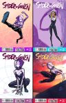Spider Gwen thumbnail sketches by JoeyVazquez