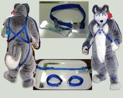 Husky Harness by LycanDID