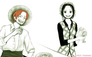 Commission- Shanks x Makino by Fruit-fragrance