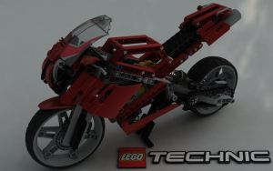 LEGO TECHNIC Street Bike 8420 IV by Dracu-Teufel666