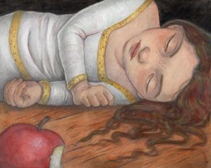 Snow White Bit The Apple by WhimsicalMoon