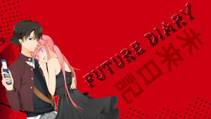 Mirai Nikki - Future Diary Wallpaper by InMoeView