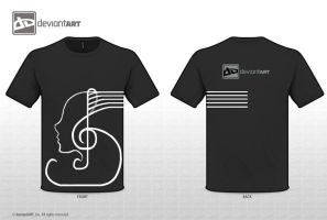 Musical Soul (black) by Crazynerds