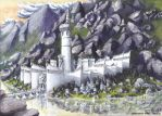 Minas Ithil, city of Isildur by LePtitSuisse1912