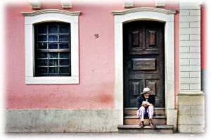 The old and the house. by bisteca