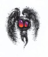 Mothman Flown by fobiapharmer