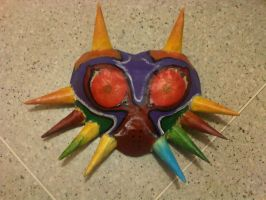 Majora's Mask WIP by helplessdancer