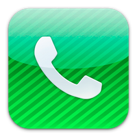 Phone icon by flakshack