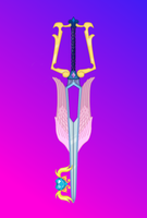Guardian Angel (Cadence+Shining Armor Keyblade) by aniamalman