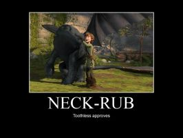HTTYD-Neck-Rub by IllusionEvenstar