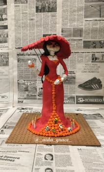 la catrina from the book of life by AidaGrace