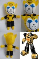 G1 Bumblebee Mini Plush by lizstaley