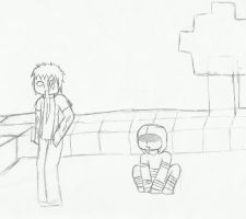 l4d in minecraft by AkatsukiLovesevery1