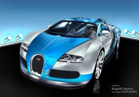 yusufbatirel 2012 bugatti veyron toon by yusufbatirel