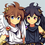 Pit and Dark Pit by Wusagi2