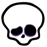 Skullete for Slow-Moe by ThestralWizard