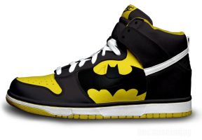 Batman Nike Dunks by becauseimjay