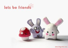 Let's Be Friends by chisa