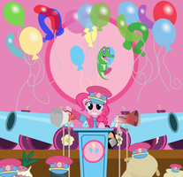 The Great Dictator, Pinkie Pie by MostBodacious