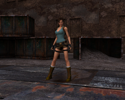 Classic Lara Croft by Bluejet97