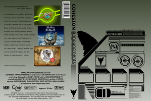 ::Cohesion DVD cover:: by djnjpendragon
