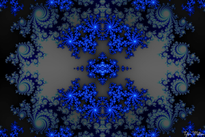 Crystaline Snowflake 2 by t-dgfx
