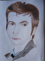 Tenth Doctor by werewolflemming