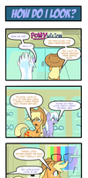Pony 4 Koma - How Do I Look? by Reikomuffin