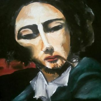 Gustave Courbet by jaweherpeyouli