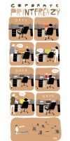 a commentary on office wastage by paperdull